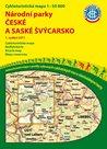Národní parky České a Saské Švýcarsko - cyklomapa Klub českých turistů 1:50 000 - 1. vydání 2011