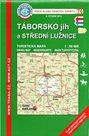 Táborsko - jih a střední Lužnice - mapa KČT č.76 - 1:50t