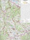 Kraj - Olomoucký -ZES- 1:135 000 - nástěnná mapa