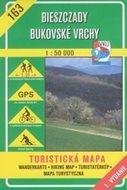 Bieszczady, Bukovské vrchy - mapa VKÚ č.163 - 1:50 000 /Slovensko,Polsko/