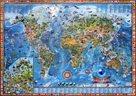 Dětská mapa světa - nástěnná mapa