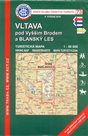 Vltava pod Vyšším Brodem a Blanský les - mapa KČT č.73 - 1:50t (1)