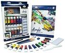 Akrylové barvy ROYAL & LANGNICKEL - 12x12 ml + příslušenství