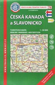 Česká Kanada a Slavonicko - mapa KČT č.78 - 1:50 000