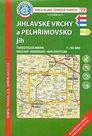Jihlavské vrchy, Pelhřimovsko jih - mapa KČT č.77 - 1:50t