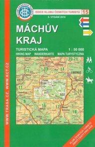 Máchův kraj - mapa KČT č.15 - 1:50t