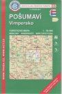Pošumaví - Vimpersko - mapa KČT č.69 - 1:50t
