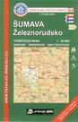 Šumava - Železnorudsko - mapa KČT č.64 - 1:50t
