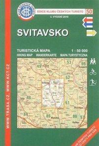 Svitavsko - mapa KČT č.50  - 1:50t