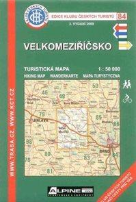 Velkomeziříčsko - mapa KČT č.84 - 1:50t