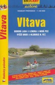 Vltava - vodácký průvodce /Borová Lada--Hluboká n.Vltavou/ - 1:50t