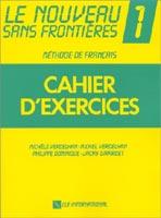 Le Nouveau Sans Frontiéres 1 - Cahier d exercices