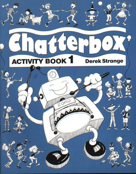 Chatterbox 1 Activity Book - A4, brožovaná