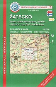 Žatecko - mapa KČT č.7 - 1:50t