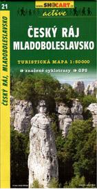 Český ráj - Mladoboleslavsko - mapa SHc21 -  1:50t