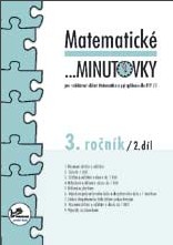 Matematické minutovky pro 3.r. 2.díl