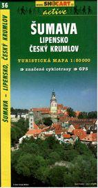 Šumava - Lipensko, Český Krumlov - mapa SHc36 - 1:50t