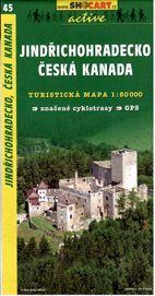 Jindřichohradecko, Česká Kanada - mapa SHc45 -  1:50t