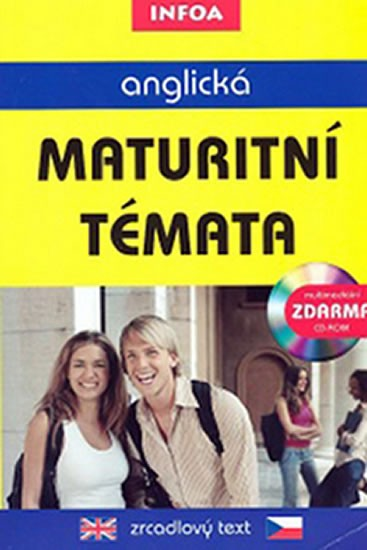 Anglická maturitní témata - zrcadlový text + CD-ROM - Smith-Dluhá Gabrielle - A5, brožovaná