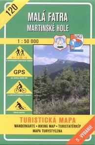 Malá Fatra - Martinské hole - mapa VKÚ č.120 - 1:50 000 /Slovensko/