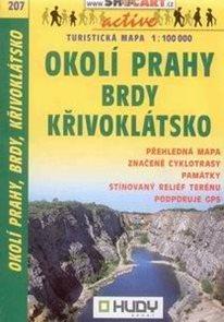 Okolí Prahy - Brdy, Křivoklátsko - mapa Shocart č.207 - 1:100t