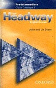 New Headway pre-intermediate class cassette