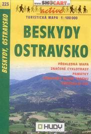 Beskydy, Ostravsko - mapa Shocart č.223 - 1:100t