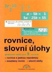 Algebra 9 - PS /Rovnice a slovní úlohy/