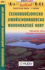 Českobudějovicko, Jindřichohradecko, Novohradské hory - mapa Shocart č.215 - 1:100t