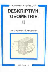 Deskriptivní geometrie II. pro 2.r. SPŠ stavební