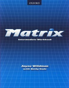 Matrix intermediate Students Book
