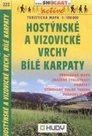 Hostýnské a Vizovické vrchy, Bílé Karpaty - mapa Shocart č.222 - 1:100t