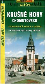 Krušné hory - Chomutovsko - mapa SHc7 - 1:50t