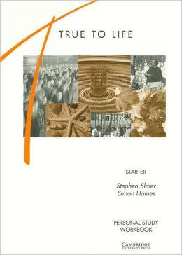 True to Life Starter - Personal Study Workbook (pracovní sešit) - Slater, Haines - A4, brožovaná, Sleva 75%