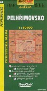 Pelhřimovsko - mapa SHc44 - 1:50t