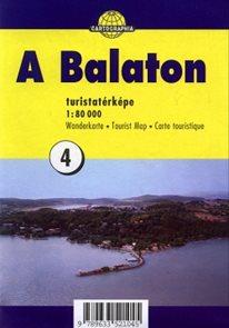 Balaton 1:80 000-mapa