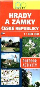 Hrady a zámky ČR 1:800 000