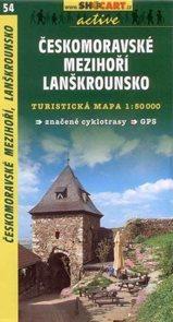 Českomoravské mezihoří, Lanškrounsko - mapa SHc54 - 1:50t