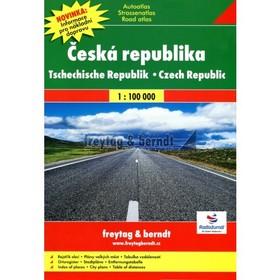 Autoatlas Česká republika 1:100 000 - Freytag a Berndt