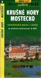 Krušné hory - Mostecko - mapa SHc8 - 1:50t