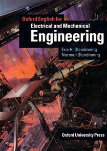 Oxford English for Electrical and Mechanical Engineering Students Book