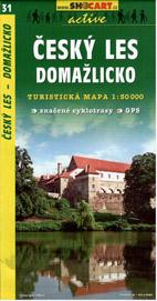 Český les - Domažlicko - mapa SHc31 - 1:50t