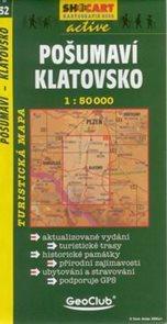 Pošumaví - Klatovsko - mapa SHc32 - 1:50t