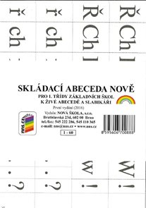 Skládací abeceda NOVĚ ke Slabikáři