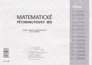 Matematické pětiminutovky I pro 1.r. - soubor pro celou třídu