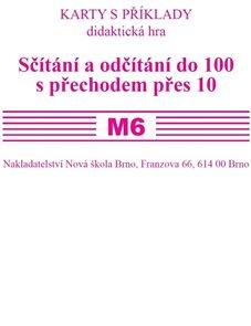 Sada kartiček M6 - sčítání a odčítání do 100 s přechodem přes 10