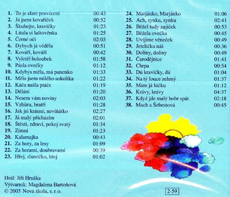 Hudební výchova 2.r. - audio CD - audio CD