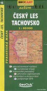 Český les - Tachovsko - mapa SHc13 - 1:50t
