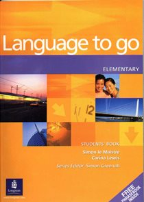 Language to go elementary Students Book with Phrasebook