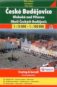 České Budějovice, Hluboká n.Vlt., Okolí ČB 1:15 000 / 1:100 000